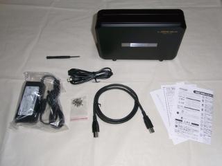 CG-HDC2ECS31-W 概観と付属品